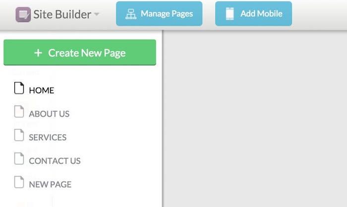 Web.com Website Builder User Interface Review